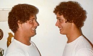 FØRSTE MØTE: Robert Shafran møter Edward Galland som 19-åring. Foto: CNN