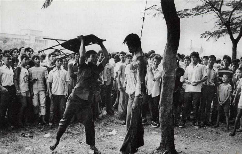 Slaktehuset: Lokale dødsskvadroner og lynsjemobber slaktet ned mistenkte kommunister og alle med «ikke-indonesiske sympatier.» Fotograf ukjent / Fra tidsskriftet Pengetahuan