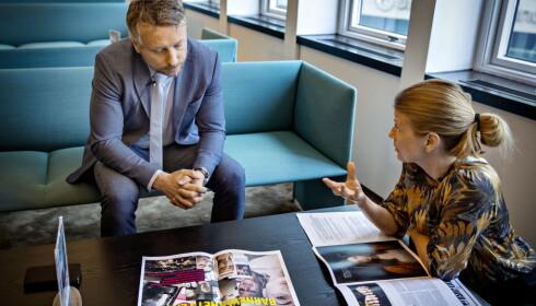 REAGERER: Assisterende Bufdir-direktør Kjetil Ostling. Foto: Jørn H Moen