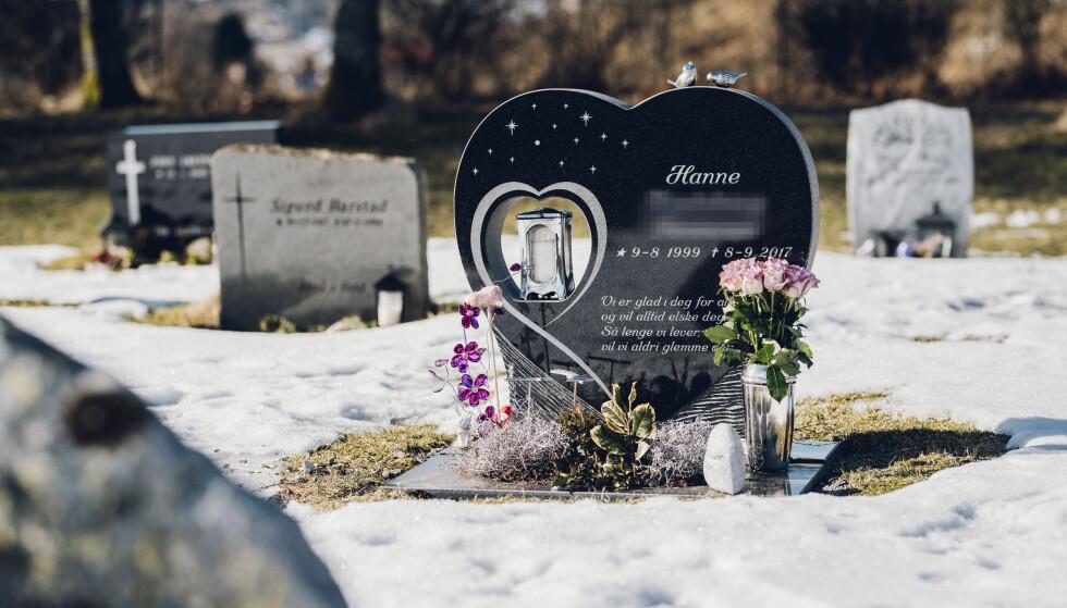 DØDE: Hanne var så vidt fylt 18 år gammel da hun falt fra et vindu i sjuende etasje og døde. Hun var påvirket av narkotiske stoffer. Foto: Thommy Ellingsen