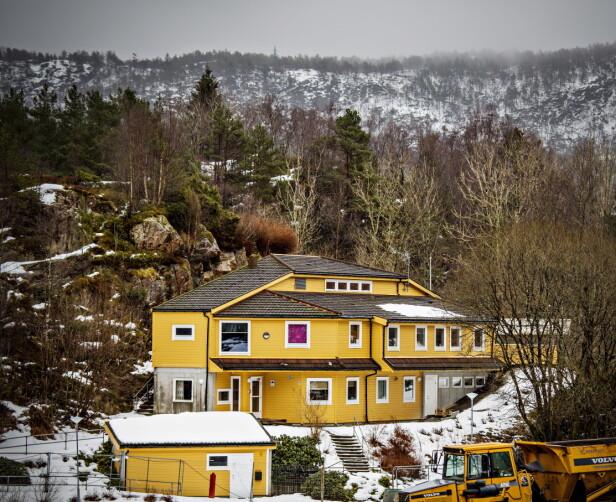 BARNEVERNINSTITUSJON: Vestlundveien ungdomssenter ligger i et boligområde i Fyllingsdalen i Bergen. Foto: Jørn H. Moen
