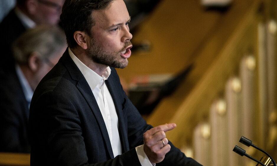 FRISTILT: Samtidig har imidlertid landsstyret enstemmig vedtatt å fristille SVs folkevalgte i spørsmålet av samvittighetsgrunner Foto: Bjørn Langsem / Dagbladet