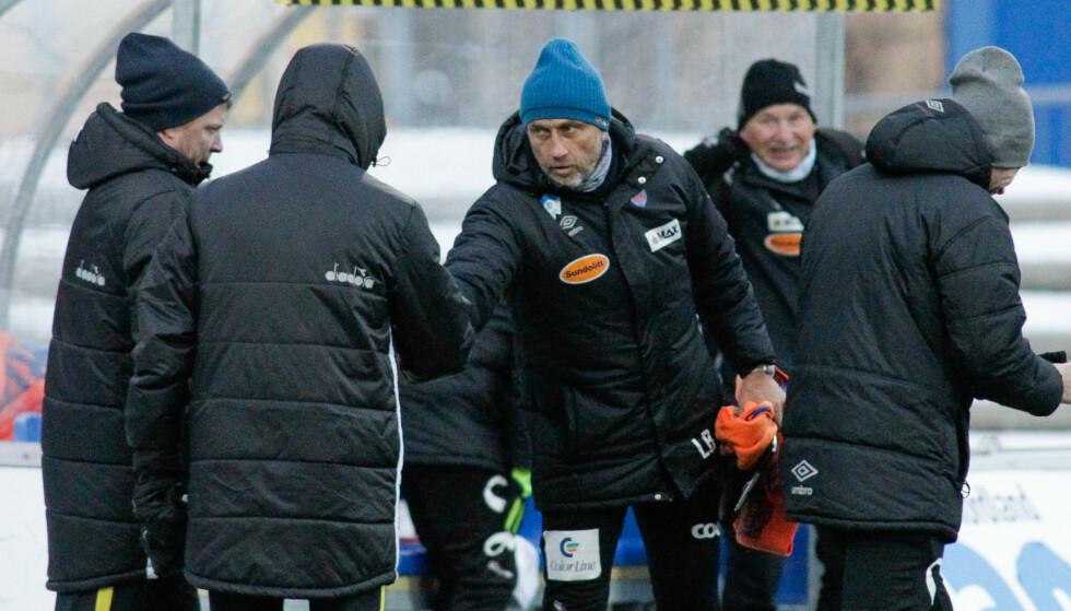 SEIER: AaFK står med sju poeng etter tre kamper i Lars Bohinens første sesong i sunnmørskluben. Foto: Torbergsen / NTB scanpix