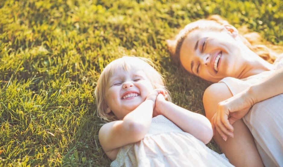 REN NYTELSE: Kjenn så deilig det er når solstrålene varmer deg opp! Foto: Scanpix