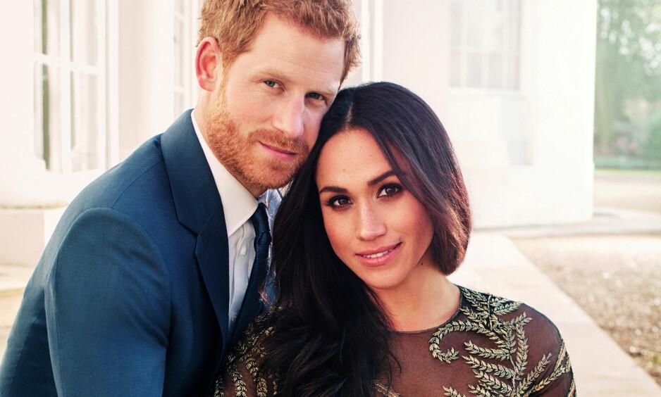 SAMMEN I ALT: Ikke bare blir den britiske prinsen Harry og den amerikanske «Suits»-stjerna Meghan Markle snart rette ektefolk, men de blir også kolleger. Det kunne prinsen avsløre mandag. Foto: Alexi Lubomirski / Kensington Palace, NTB scanpix