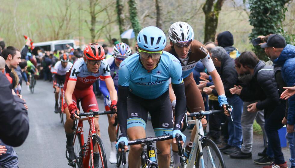 I PRAKTSLAG: Pello Bilbao fortsatte den gode tendensen fra Baskerland rundt, da han vant Tour of The Alps-åpningen, mandag.