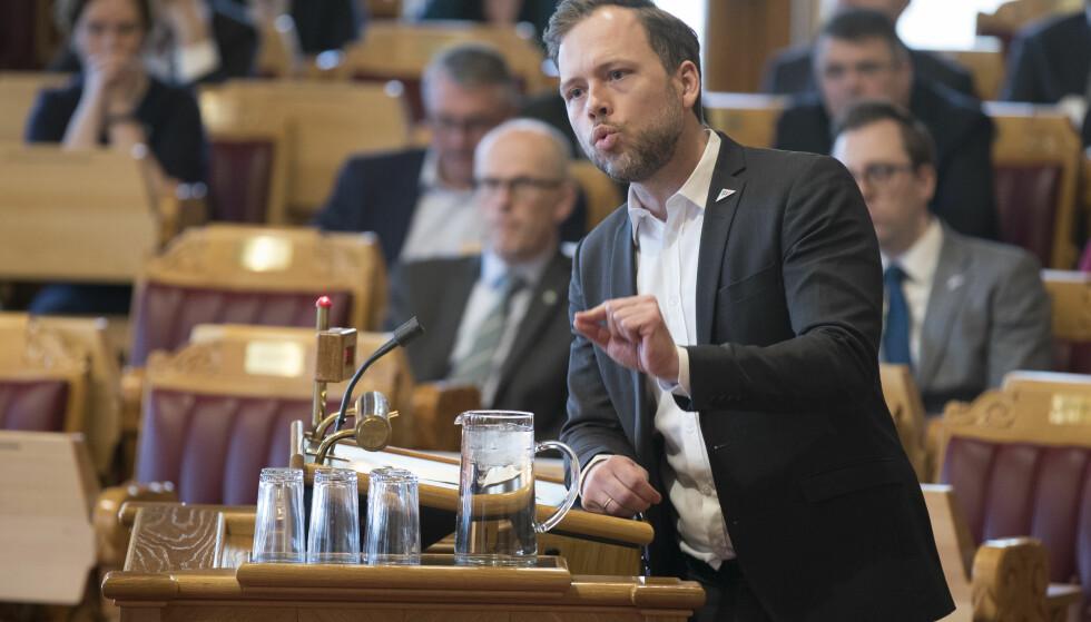 Tapte kampen: SV-leder Audun Lysbakken og resten av ledelsen, ble nedstemt av eget parti i spørsmålet om omskjæring av guttebarn under partiets landsstyremøte forrige uke. Foto: Vidar Ruud / NTB scanpix