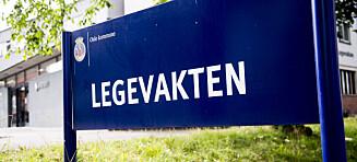 Renholder på legevakta i Oslo fikk tilbud om 0,58 prosents stilling