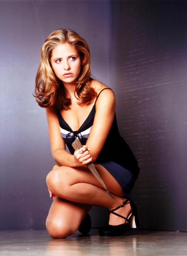 STOR SUKSESS: «Buffy the Vampire Slayer», eller «Buffy, vampyrenes skrekk» som den het her til lands, ble sendt på TVNorge. Serien har vunnet en rekke priser i USA. Foto: NTB Scanpix