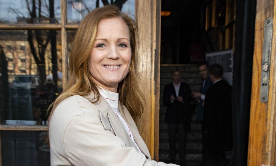 HØRER ALDRI PÅ: Siri Kristiansen har ikke hørt på et eneste program av «Lørdagsrådet», verken mens hun selv var programleder for det populære NRK-programmet, eller etter at hun sluttet. Foto: Tor Lindseth/ Se og Hør