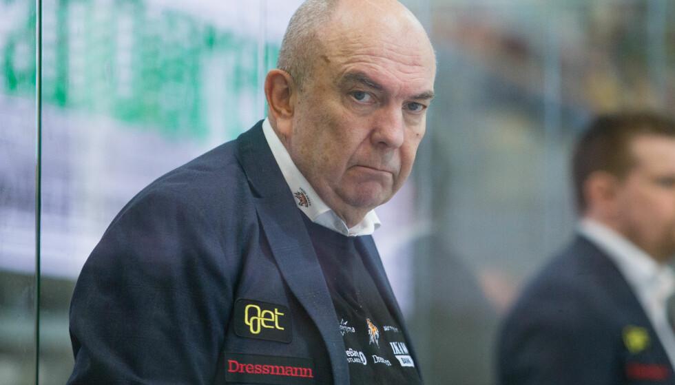 FERDIG: Frisk Asker trener Sune Bergman. Foto: NTB Scanpix