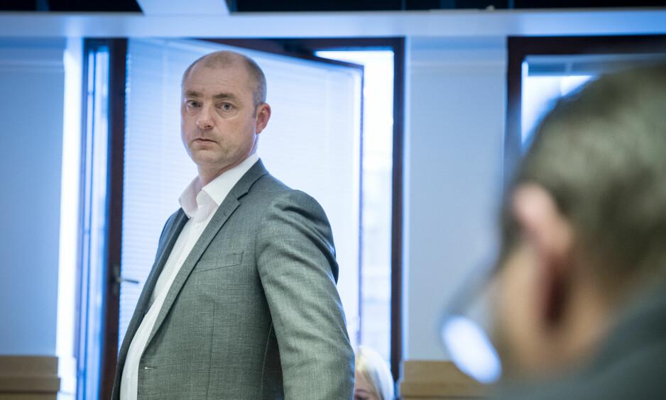 KRITISK: Robert Eriksson forklarte seg i skarpe ordelag om jobben som hans tidligere ansatte Frode Reppe har gjort i NSL: Foto: Øistein Norum Monsen/Dagbladet.