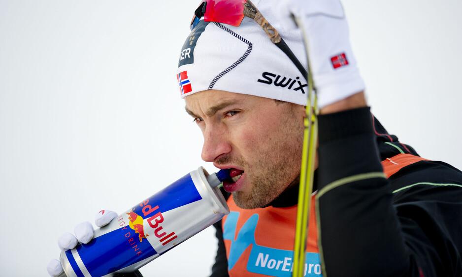 RED BULL-AVTALE: Petter Northug har vært sponset av Red Bull siden 2009. Foto: Jon Olav Nesvold / NTB scanpix