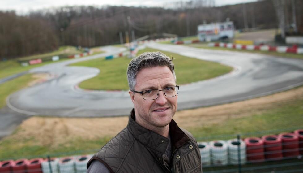 LILLEBROR: Ralf Schumacher. Her foran banen han og broren Michael la grunnlaget for suksessen. Foto: AFP PHOTO / dpa / Rolf Vennenbernd