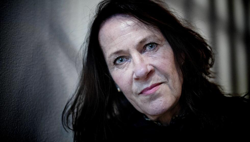 BRØT: Forfatter Vigdis Hjorth sier hun hadde det veldig vondt da hun brøt med familien for tretti år siden. Nå skriver hun blant annet om forholdet mellom sannhet og virkelighet i ny bok. Foto: Bjørn Langsem