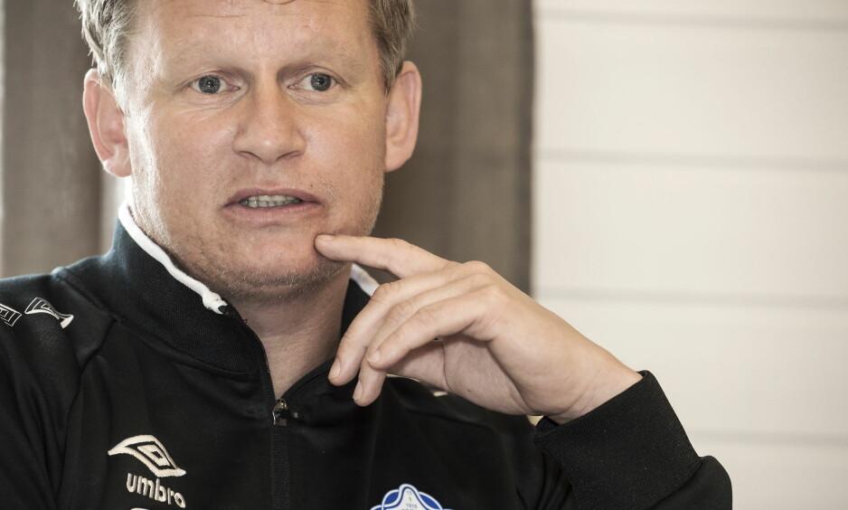 TRENERKARRIERE: Steffen Iversen har trent Trygg/Lade siden desember. I kveld får klubben storfint besøk av Rosenborg. Foto Hans Arne Vedlog / Dagbladet