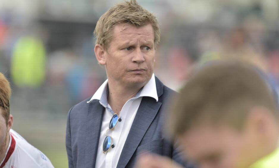UTE AV CUPEN: Steffen Iversen og Trygg/Lade tapte 2-4 for Rosenborg i cupen torsdag kveld. Foto: Hans Arne Vedlog / Dagbladet