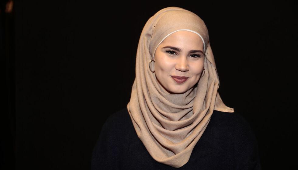 GIFT: Onsdag giftet Iman Meskini seg med sin «hemmelige» kjæreste Mourad Jarrari. Foto: Lise Åserud / NTB Scanpix