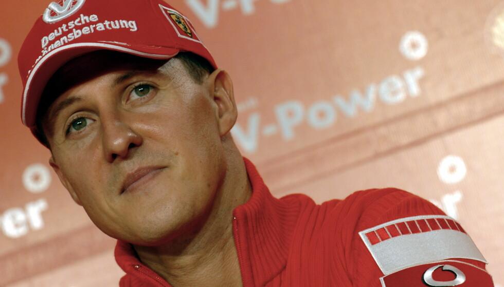SKIULYKKE: Michael Schumacher skadet seg alvorlig i en skiulykke i 2013. Foto: Action Images / Crispin Thruston