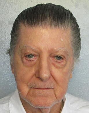 HENRETTET: Walter Leroy Moody ble henrettet i Alabama på torsdag, 83 år gammel. Foto: Alabama Department of Corrections via AP/NTB Scanpix