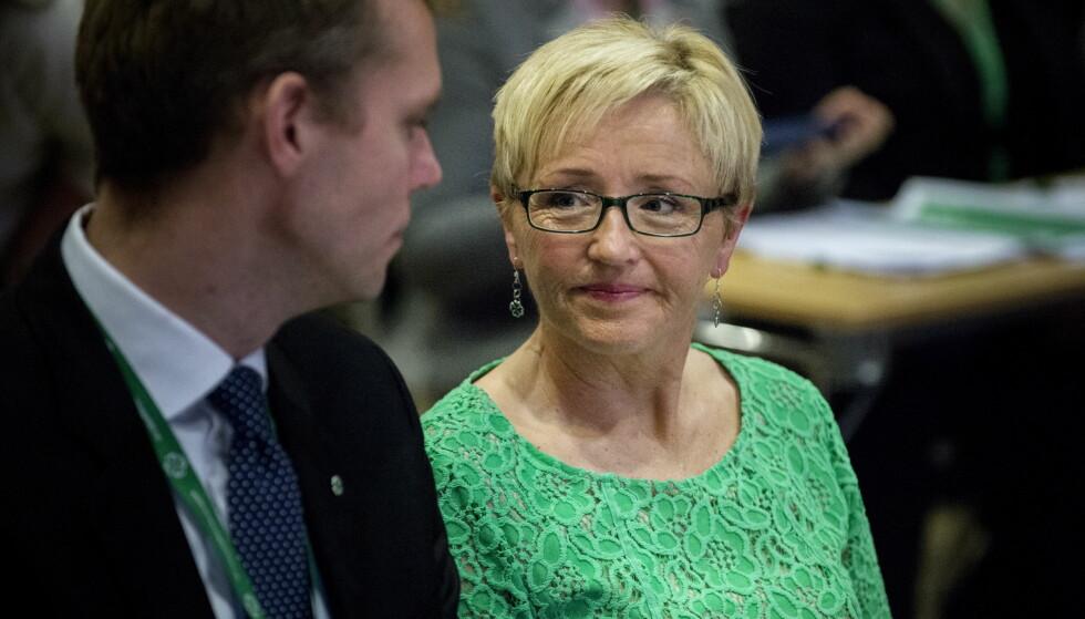 SYKMELDT: Liv Signe Navarsete er sykmeldt etter bråket. Ola Borten Moe har midlertidig fratrådt som nestleder. Foto: Øistein Norum Monsen / Dagbladet