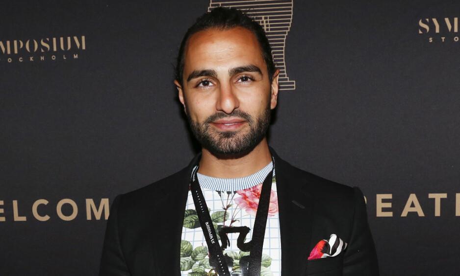 NÆR VENN: Den svensk-iranske musikkmogulen Arash Pournouri (36) jobbet tett med Avicii i åtte år. Han mottar dødsbudskapet med en bunnløs sorg. Foto: NTB Scanpix