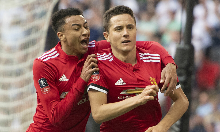 MATCHVINNER: Tottenham tok ledelsen, men Manchester United snudde kampen etter scoringer av Alexis Sanchez og Ander Herrera. Foto: Mark Pain / Pa Photos / NTB Scanpix