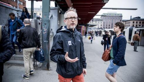 WWF-LEDER: Tidligere klima- og miljøminister Bård Vegar Solhjell. Foto: Christian Roth Christensen / Dagbladet