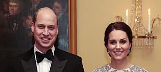 Hertuginne Kates fødsel er i gang