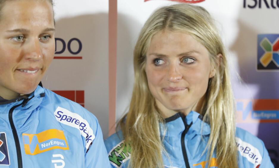 TILBAKE: Therese Johaug ble formelt presentert som landslagsløper på mandag. Foto: Gorm Kallestad / NTB scanpix