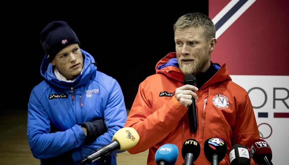 FERDIG: Tor Arne Hetland får ikke fortsette som landslagstrener for allroundlaget til tross for OL-suksessen i Pyeongchang. Foto: Bjørn Langsem / Dagbladet