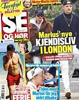 PÅ FORSIDA: Marius Borg Høiby er nok en gang på forsida til ukebladet. Faksimile: Se og Hør