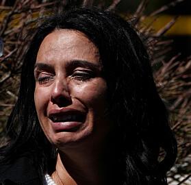 Fortvilelse: Vitner til hendelsen reagerte med fortvilelse. Foto: NTB Scanpix