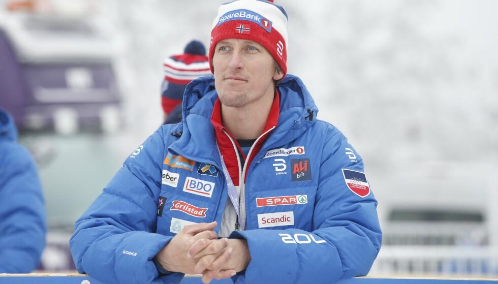 FERDIG: Lars Berger gir seg i jobben som landslagstrener for parautøverne. Foto: Terje Pedersen / NTB scanpix