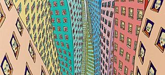 En gåtefull skikkelse går igjen i flere Pushwagner-malerier. Et av dem solgte for 1,3 millioner