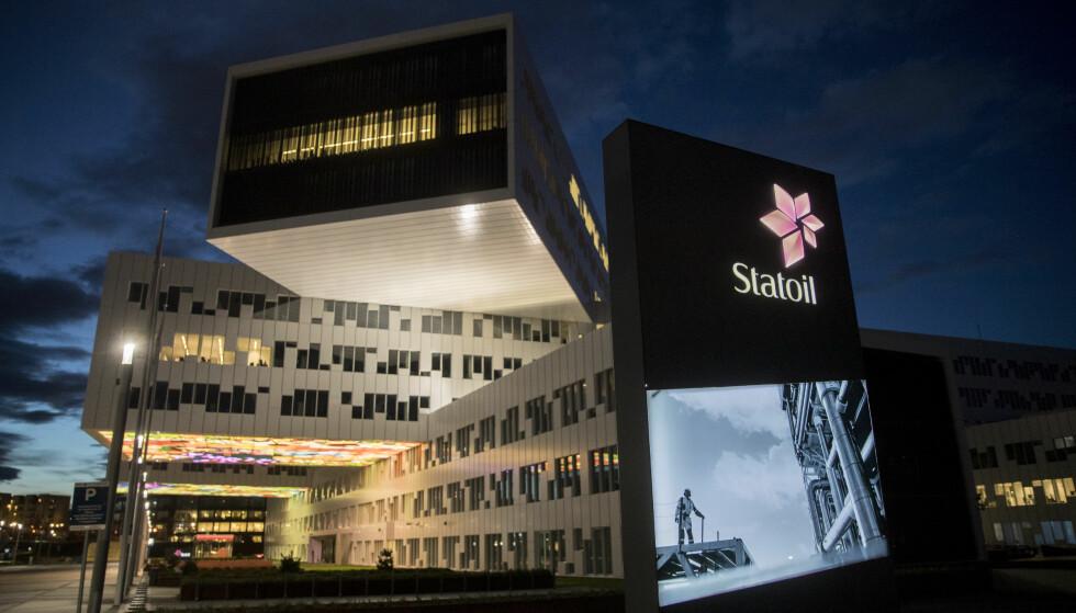KAN FÅ SMELL: Skattemyndighetene advarer Statoil om at de kan få en ekstra skatteregning på fire milliarder kroner. Her fra Oslo-kontoret til Statoil på Fornebu i Bærum. Foto: Vidar Ruud / NTB scanpix