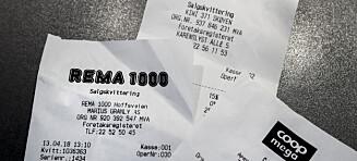 Papiret flommer i butikkene: - Bare skatteetaten som synes dette er en god idé