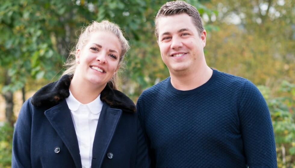 FORTSATT VENNER: Katarina og Rune har møttes de siste ukene for se tv-episodene sammen. Begge understreker at de ikke har noe uoppgjort med hverandre. Foto: Stine Mari Falstad / TVNorge