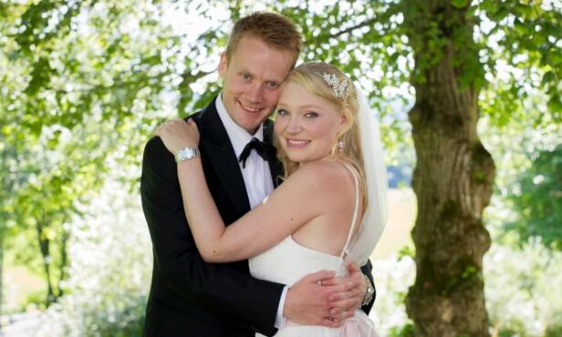 AVBRØT EKTESKAPET: André Halse Klaffmo (31) og Isabel Jotun Hansen (31). Foto: Christine Heim / TVNorge