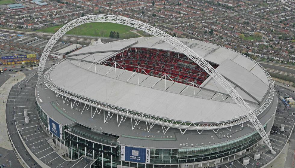 TIL SALGS: FA skal være villige til å selge Wembley. Foto:  REUTERS/Action Images/Pool/NTB Scanpix