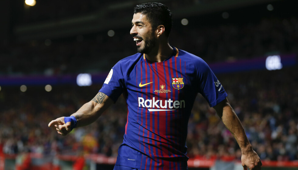 KAN FEIRE FØR KAMP: Luis Suarez og Barcelona. Foto: NTB Scanpix