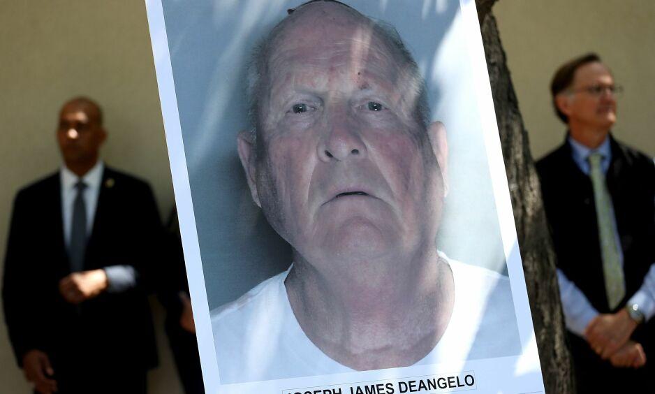 SIKTET: 72 år gamle Joseph James DeAngelo ble tirsdag lokal tid pågrepet utenfor hjemmet sitt i Sacramento. Politiet mener det er «The Golden State killer». Foto: NTB scanpix