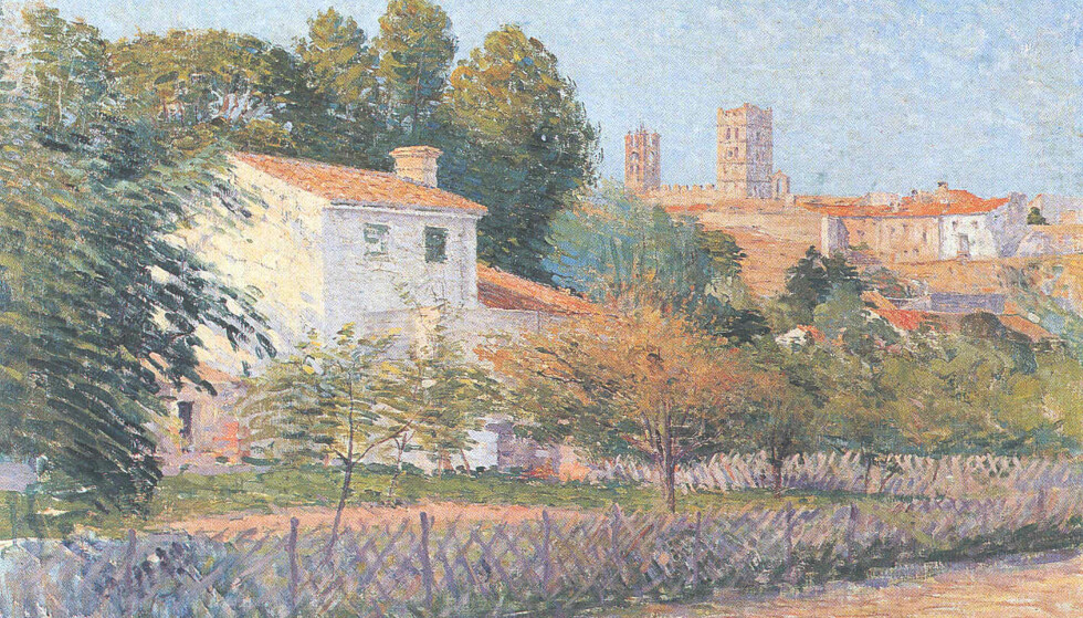 EKTE? Dette bildet er angivelig malt av den franske kunstneren Étienne Terrus. Et museum i Frankrike har oppdaget at nær halvparten av Terrus-maleriene deres er falske. Foto: Wikimedia Commons