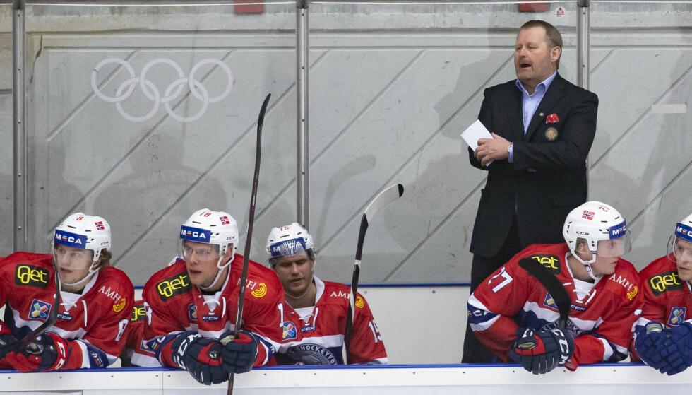 TAP: Petter Thoresen og Norge tapte knepent lørdag. Her fra en kamp mot Russland nylig. Foto: Fredrik Hagen / NTB scanpix
