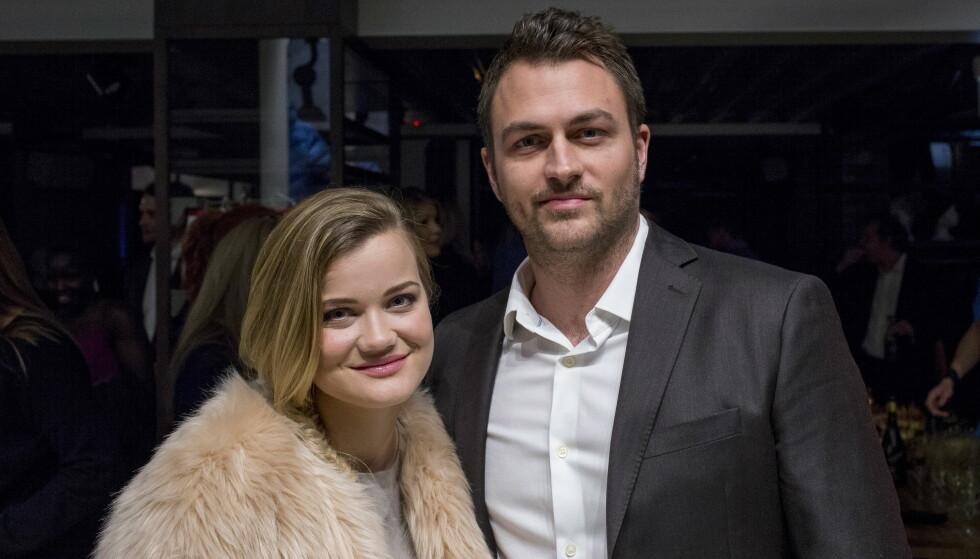 BLIR FORELDRE: Sandra Lyng og forloveden røper at de til høsten får en liten gutt sammen. Foto: Sveinung U. Ystad, Dagbladet
