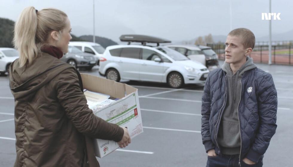 Helena sier unnskyld. Foto: NRK