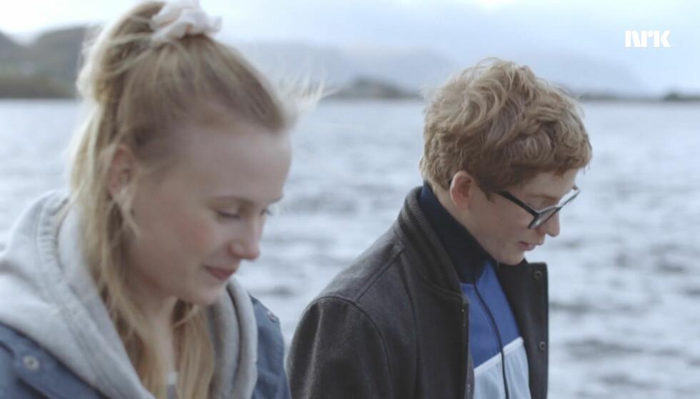 VENNER IGJEN: Camilla og Nils. Foto: NRK