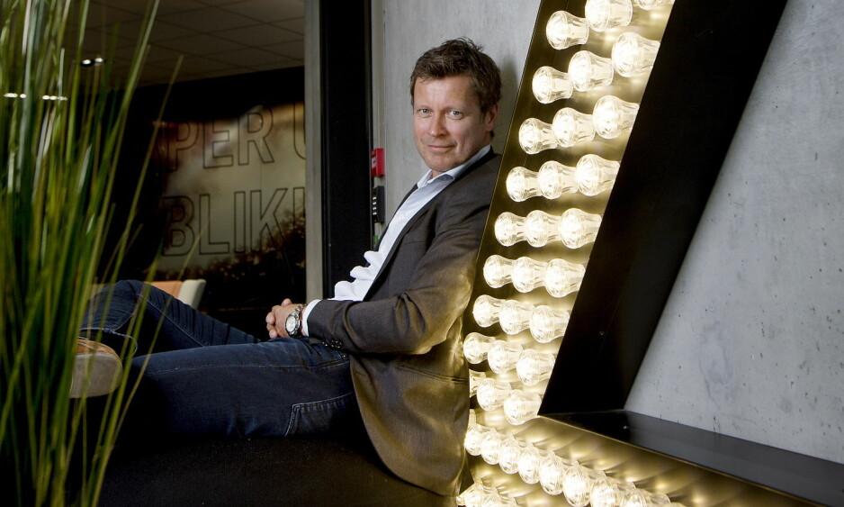 TILBAKE I TV 2: Trygve Rønningen sluttet i TV 2 i 2000, etter å ha vært med på å bygge opp kanalen. Nå er han tilbake som kanaldirektør og publisher. Foto: Anita Arntzen