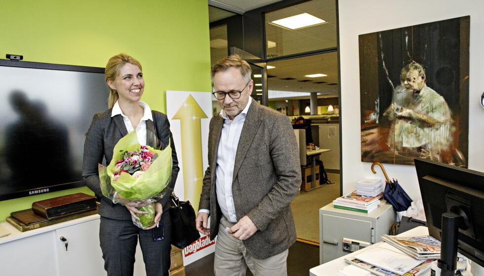 NY SJEFREDAKTØR: Alexandra Beverfjord kommer tilbake til Dagbladet for å overta som sjefredaktør etter John Arne Markussen. Foto: Nina Hansen