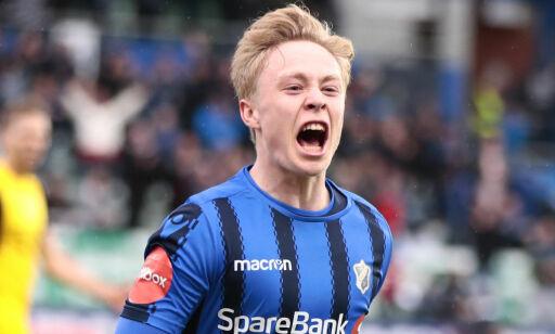 image: Ola (19) storspilte, scoret to og senket Lillestrøm